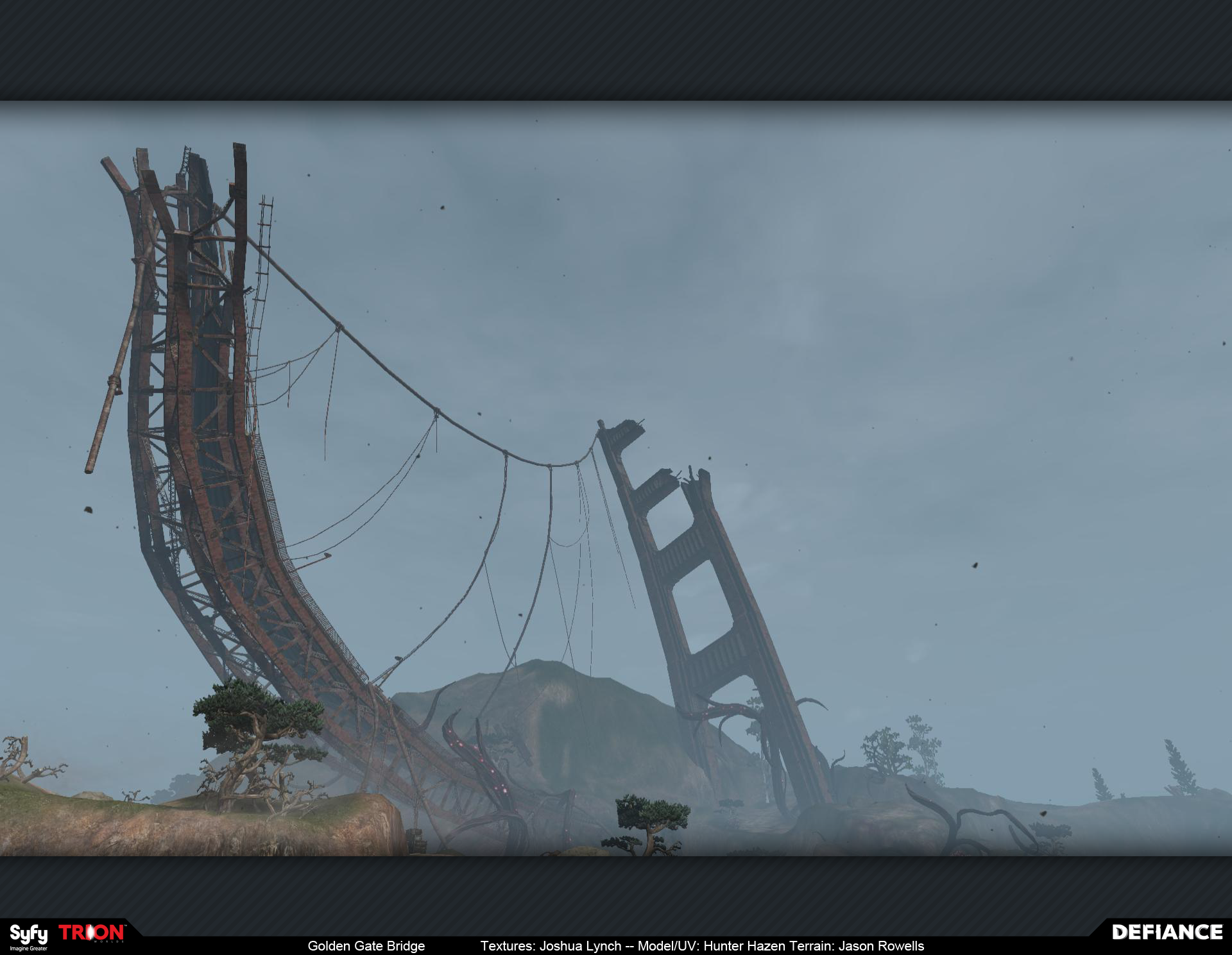 Golden Gate Bridge Josh Lynch Environment Artist